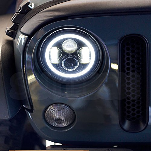 7 Inch Led Headlight Conversion Kits With Super Bright