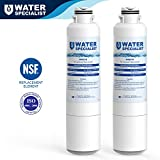 Waterspecialist DA29-00020B Refrigerator Water Filter Replacement for Samsung DA29-00020B, DA29-00020A, HAF-CIN/EXP, 46-9101, 2 Pack