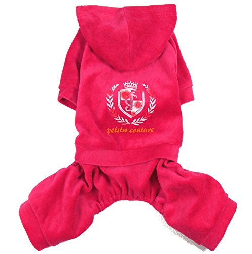 Smalllee Lucky Store Velvet Hoodie Pajamas X Large