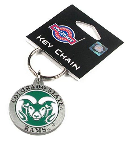 College Team Logo Key Ring - Colorado State Rams