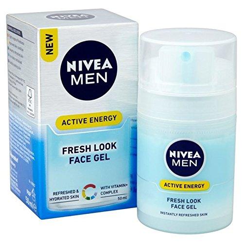 Nivea Men Active Energy Fresh Look Face Gel 50ml