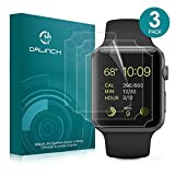 Apple Watch 42mm Screen Protector Series1, Series 2, Series 3, 3Pack, Dalinch iWatch Screen Protector-Wet Applied,Anti-Bubble,Case Friendly,No-Lifting Film for Apple Watch 42mm Hermès/Nike+ Edition