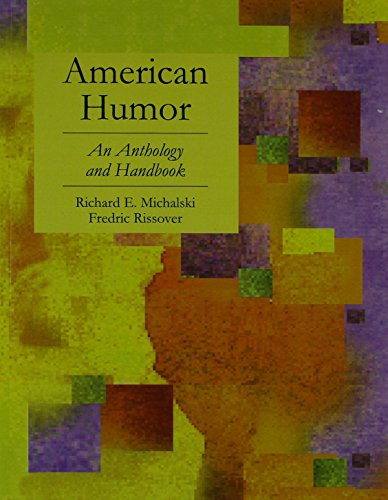 American Humor: An Anthology and Handbook