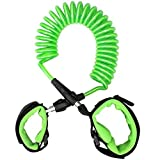 FASOTY Anti Lost Wrist Link Safety Velcro Wrist Link for Toddlers, Babies & Kids (Green)