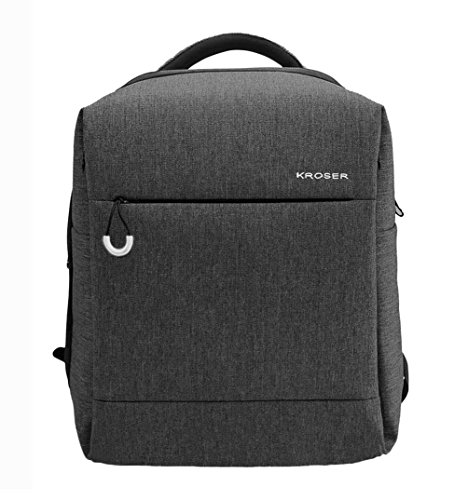 Travel Outdoor Computer Backpack Laptop bag small(darkgrey) - 5