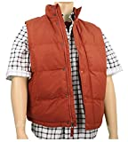 Men's Marty McFly Puffer Vest Rust (X-Large)