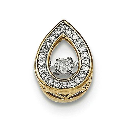 14 carats-Diamant-JewelryWeb de déménagement