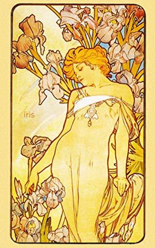 Iris: 5x8 Journal (Art Nouveau Journal)