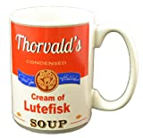 Thorvald's Cream of Lutefisk Mug-12 oz