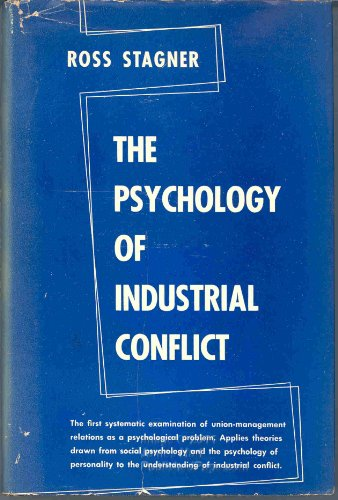 Psychology of Industrial Conflict.