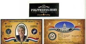 Jon Tester 2009 Executive Trading Cards Politicians #MT1S Montana