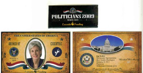 rahm-emanuel-2009-executive-trading-cards-politicians-ex23-white-house-chief-of-staff