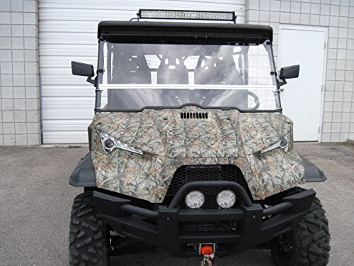 2015 + Odes Dominator X Scratch Resistant Full-Tilt Windshield. We need to know what kind of roof you have. Check email/Junk mail after order is placed for any questions we may have. by UTV Windshields and Accessories