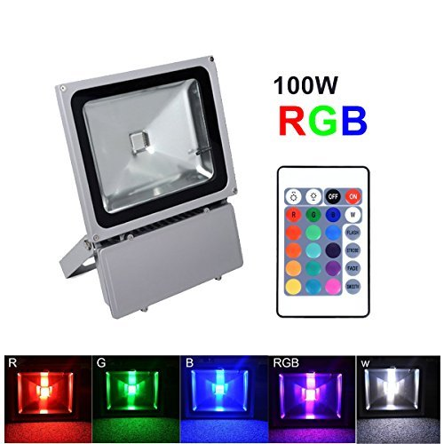 Multi Colored Flood Lights Outdoor in Florida - 5
