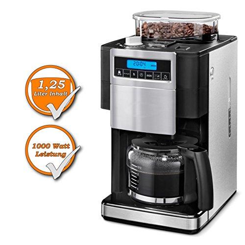 Filtro Cafetera Eléctrica integrada, molinillo de café, 12 ...