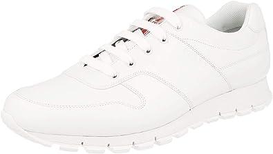 Amazon.com | Prada Men's 4E3363 White
