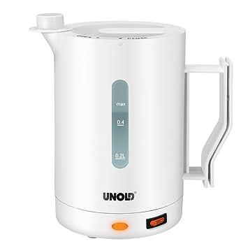Unold 8210 - Hervidor de agua para viajes de 0.5 l, 1000 W