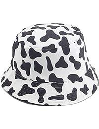 Unisex Print Double-Side-Wear Reversible Bucket Hat