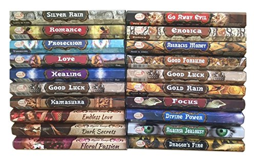 Hem Incense Sticks Various Fragrances 20 Packs Total 240 Sticks