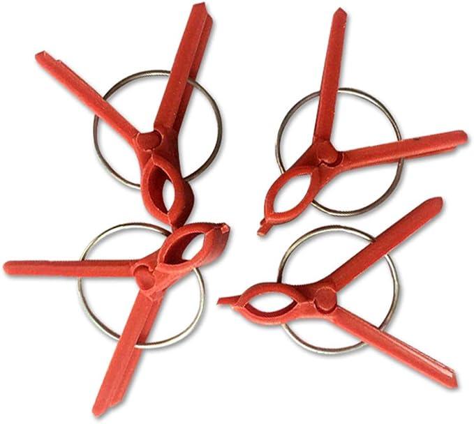Paquete de 100 broches de clip para plantas de vid reutilizables ...