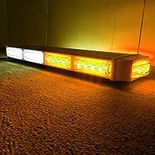 """VSLED 22""""40 LED Amber/White LightBar Emergency Recovery LightBar Long Row Car Light Warning Strobe light"""