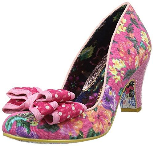 con W Choice Floral Donna Irregular da Ban Tacco Joe Scarpe Pink Rosa wI0wvPxdq4