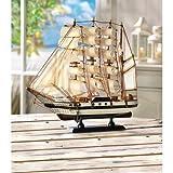 Gifts & Decor Passat Tall Ship Detailed Wooden