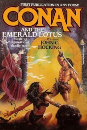 Conan and the Emerald Lotus, Hocking, John C.