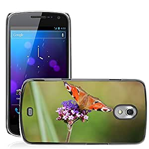 Hot Style Cell Phone PC Hard Case Cover // M00310306 Peacock Butterfly Nature Beauty // Samsung Galaxy Nexus GT-i9250 i9250