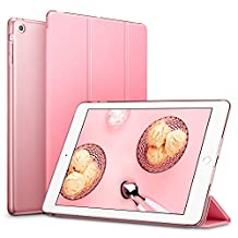 iPad Mini Case, iPad Mini 3 Case, iPad Mini 2 Case, ESR Yippee Color Series Smart Cover+Transparent Back Cover [Ultra Slim] [Light Weight] [Scratch-Resistant Lining] [Perfect Fit] [Auto Wake Up/Sleep Function] for iPad mini 3/2/1 (Sweet Pink)