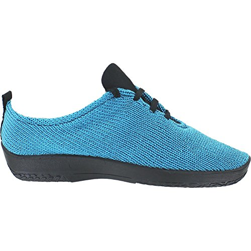 Arcopedico Womens LS Tie Knit Turquoise Oxford - 37