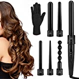Best Ceramic Curling Irons - Luxspire 6 in 1 Hair Curling Wand, Professional Review