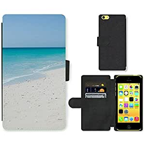 PU Cuir Flip Etui Portefeuille Coque Case Cover véritable Leather Housse Couvrir Couverture Fermeture Magnetique Silicone Support Carte Slots Protection Shell // F00001327 Camilla Gagliardi // Apple iPhone 5C
