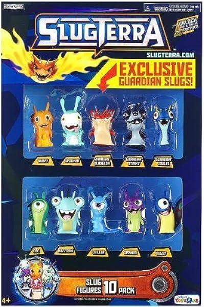 Slugterra Exclusive Mini Figure 10-Pack [Burpy, Spooker, Doc ...