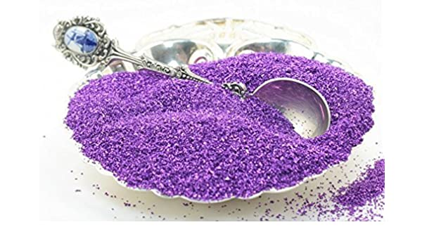 Real Glass Violet Glass Glitter 311-9-014 Imported German Glass Glitter
