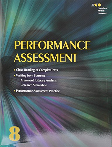 Collections: Performance Assessment Student Edition Grade 8