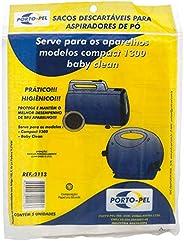 Kit Com 5 Sacos Para Aspirador Electrolux Compact 1300 A300 S2113