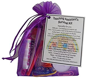 Teaching Assistant Survival Kit Gift (Great present for Christmas ...