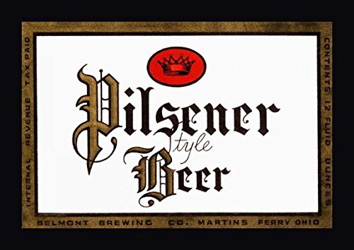 Pilsener Style Beer by Vintage Booze Labels - 17