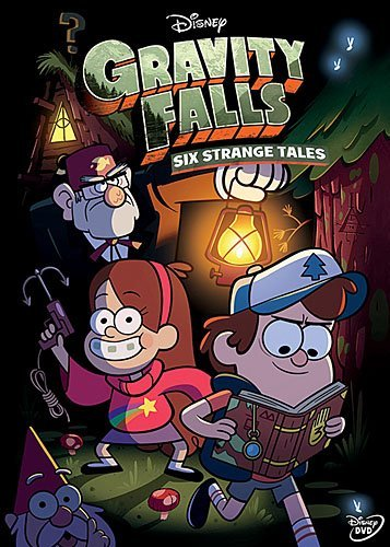 Gravity Falls: Six Strange Tales (W/Book) / (Ws) [DVD] [Region 1] [NTSC] [US Import]