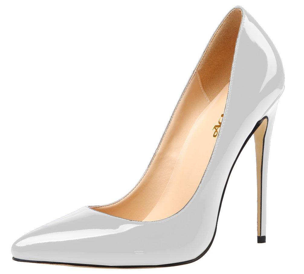 AOOAR - Clásico Mujer 41 EU Grau/Lackleder En línea Obtenga la mejor oferta barata de descuento más grande