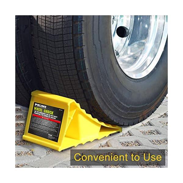 518cHVEvIhL Pr1me 02-013 Unterlegkeil für Reifen, 2 Stück, rutschfest, für die meisten Reifengrößen, einfach aufzustellen
