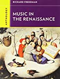img - for Anthology for Music in the Renaissance (Western Music in Context: a Norton History) book / textbook / text book