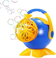 Geekper Automatic Bubble Machine Toy with AC Adaptor for Kids - 800 Bubbles Per Minute - Party and Gift or Play to Use - ...