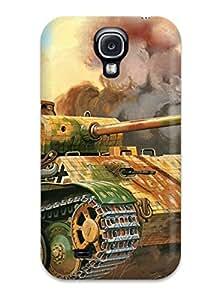 Unique Design Galaxy S4 Durable Tpu Case Cover Tank