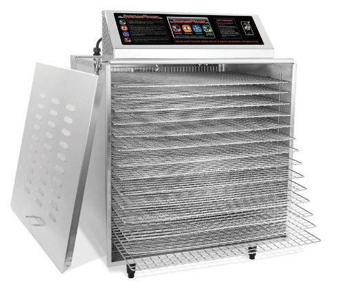 TSM D-14 Digital Touch Screen Food Dehydrator with Stainless