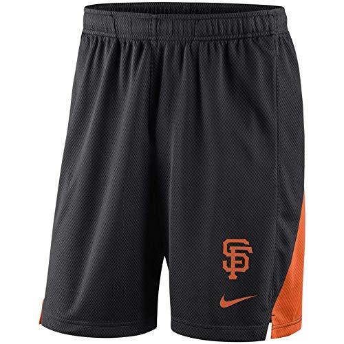 San Francisco Franchise Performance Shorts - Black (Large) - Mens Shorts San Giants Francisco