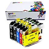 HIINK LC103XL Ink Cartridge Replacement for Brother LC-103 MFC-J245 MFC-J285DW MFC-J450DW MFC-J475DW MFC-J650DW MFC-J870DW MFC-J875DW Printer, Pack of 5
