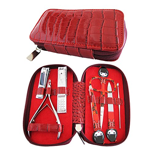 *HOLIDAY BLOWOUT DEAL* Salon Quality MANICURE SET Nail Kit w/ 7 essential stainless steel tools. Awarded Best Gifts For Women & Perfect Stocking Stuffer For 2017 *BUY ON SALE NOW WHILE SUPPLIES LAST*