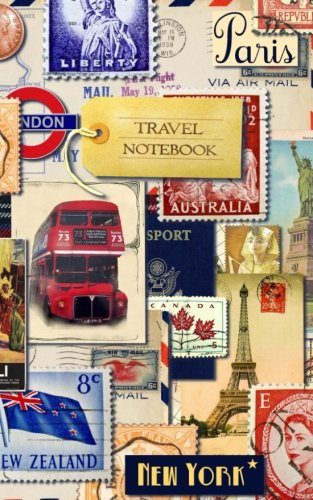 Travel Notebook: Gifts/Presents (Blank Ruled Traveler's Notebook with Vintage Cover) [ Reisenotizen ] (Travel Journals)